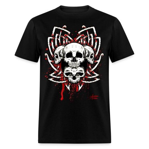 Celtic Quad Skull - Men's T-Shirt
