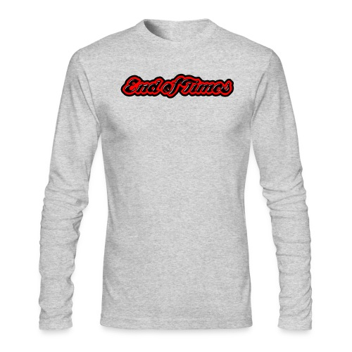 End of Times Long Sleeve Shirt - Men's Long Sleeve T-Shirt by Next Level