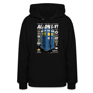 Time Traveling Lessons Women's Hoodie - Women's Hoodie