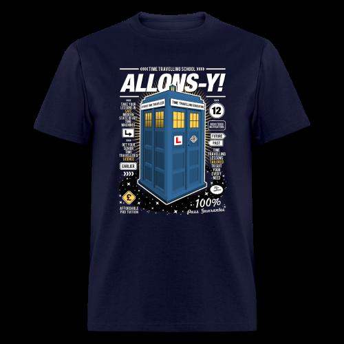 Time Traveling Lessons Men's T-Shirt - Men's T-Shirt