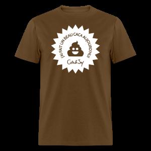 Caca d'Aujourd'hui - T-shirt pour hommes