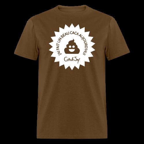 Caca d'Aujourd'hui - Men's T-Shirt