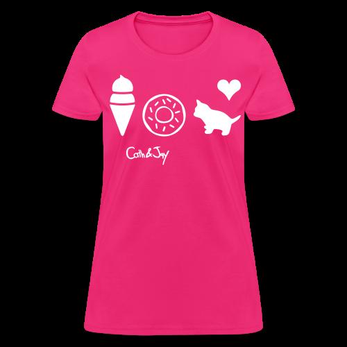 Catherine en Folie - Women's T-Shirt