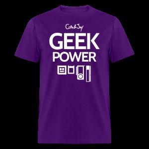 GEEK Power - T-shirt pour hommes