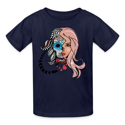 Bad Blood Sugar Skull Kids T-Shirt from South Seas Tees - Kids' T-Shirt