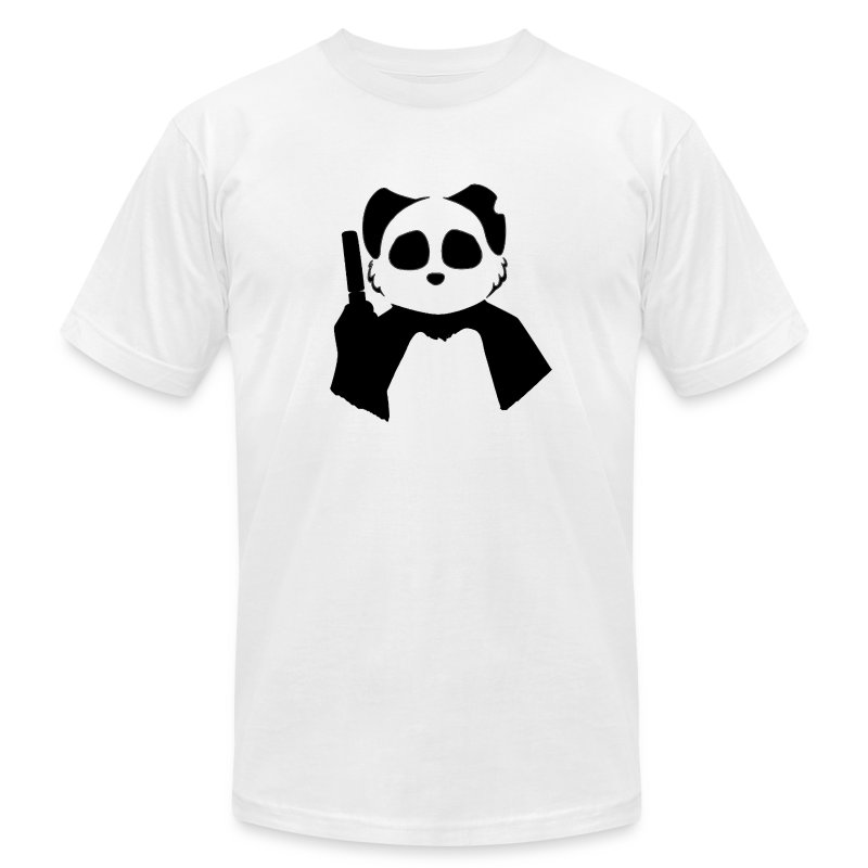 Agent Panda.png - Men's T-Shirt by American Apparel