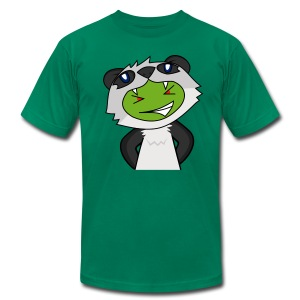 Alien Panda - Men's T-Shirt by American Apparel
