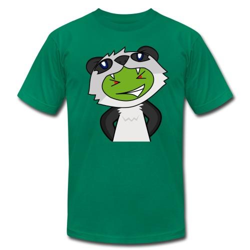 Alien Panda - Men's Fine Jersey T-Shirt