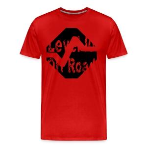 Big & Tall T-Shirt Level 10 Off Road Symbol Dark - Men's Premium T-Shirt