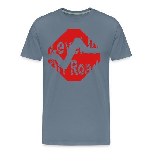 Big & Tall T-Shirt Level 10 Off Road Symbol Red - Men's Premium T-Shirt