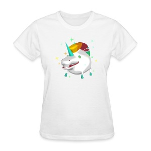T-Shirt Unicorn Women White - Women's T-Shirt