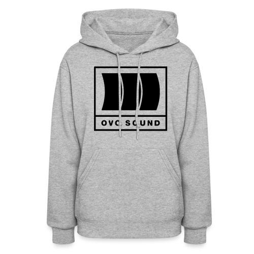 Sound (Black / Hoodie / Women) - Women's Hoodie