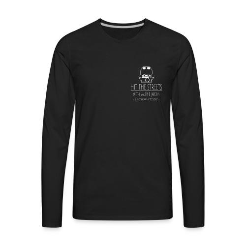 Men's long sleeve shirt with small logo - Men's Premium Long Sleeve T-Shirt