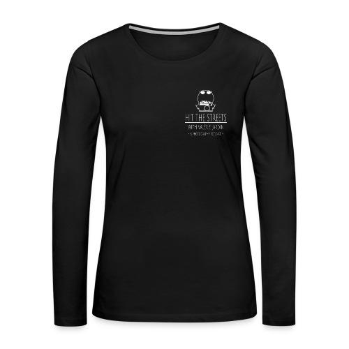 Women's long sleeve shirt with small logo - Women's Premium Long Sleeve T-Shirt