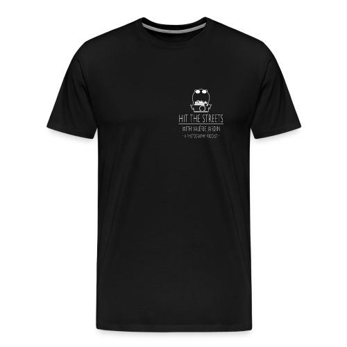 Men's premium T-Shirt with small logo - Men's Premium T-Shirt
