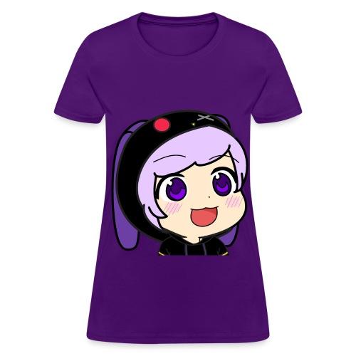 Akari Tokuda Gyate Gyate Purple Shirt for Women - Women's T-Shirt