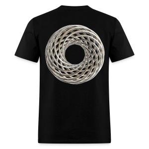 Double Vortex Coil - Men's T-Shirt
