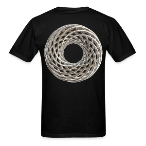 Double Vortex Coil - Men's T-Shirt