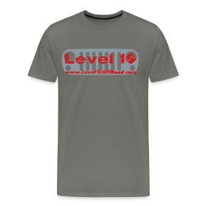 T-Shirt Level 10 JK Grille - Men's Premium T-Shirt
