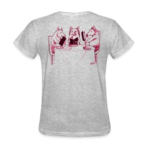 Three Pigs - Women's T-Shirt