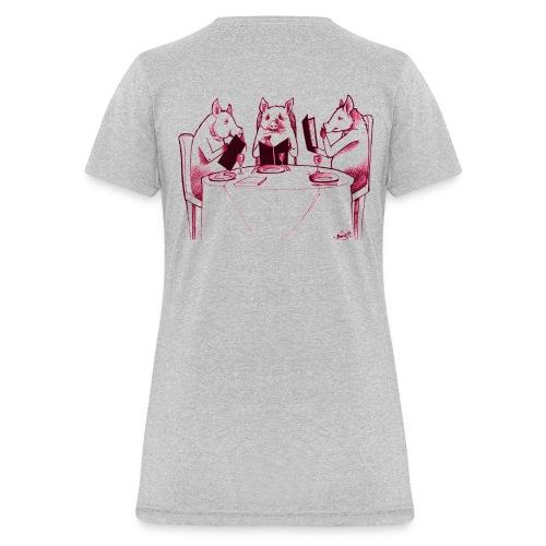 Three Pigs - Women's T-Shirt