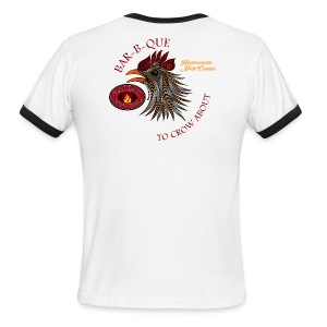 BBQ To Crow About - Men's Ringer T-Shirt