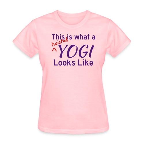 This is what a twisted yogi looks like (Women's) - Women's T-Shirt