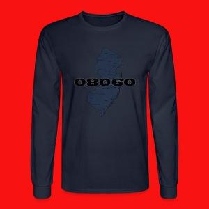 08060 New Jersey shirt - Men's Long Sleeve T-Shirt
