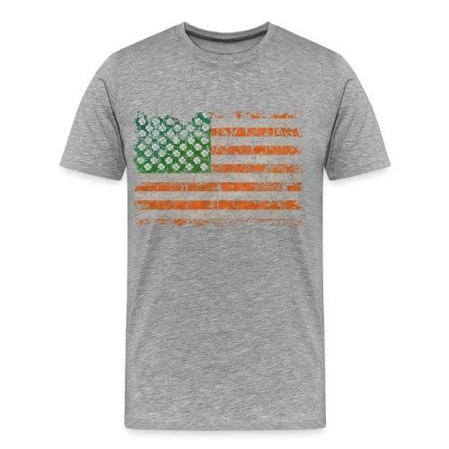 Irish States Of Lucky America  - Men's Premium T-Shirt