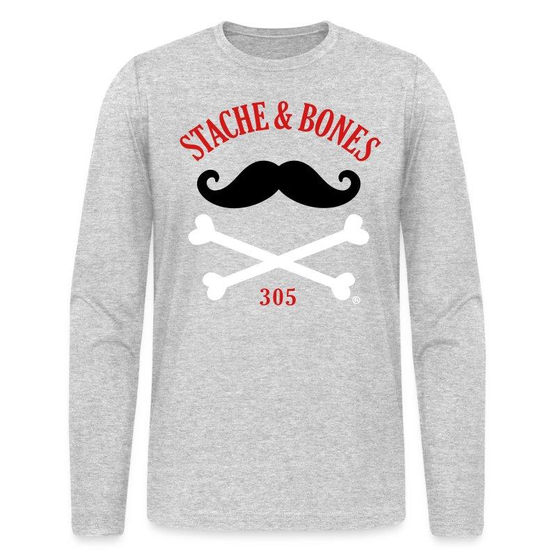 STACHE & BONES 305 Official - Men's Long Sleeve T-Shirt by Next Level