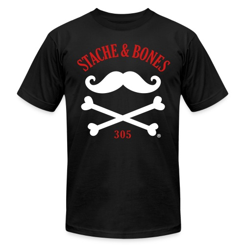 STACHE & BONES 305 Official - Men's Fine Jersey T-Shirt