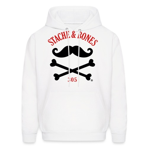 STACHE & BONES SOCIETY 305 Chapter - Men's Hoodie