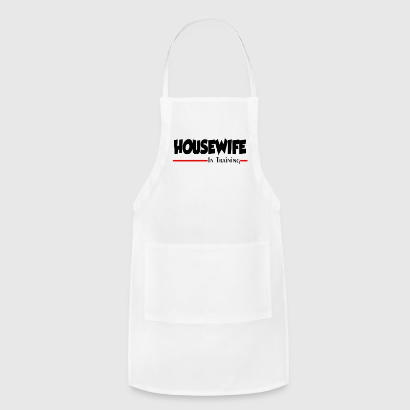 HOUSEWIFE IN TRAINING Aprons - Adjustable Apron