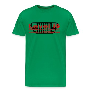 T-Shirt Level 10 YJ Grille - Men's Premium T-Shirt