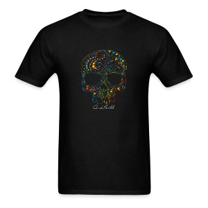 Skull Tattoo Signed Men's T-Shirt - Men's T-Shirt