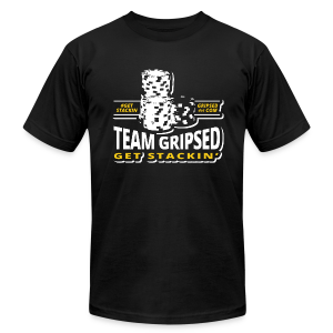 Team Gripsed Stacks - Men's T-Shirt by American Apparel