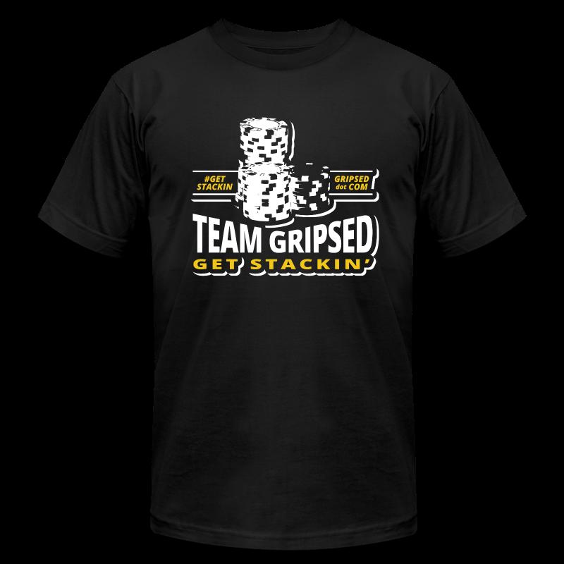 Team Gripsed Stacks - Men's Fine Jersey T-Shirt