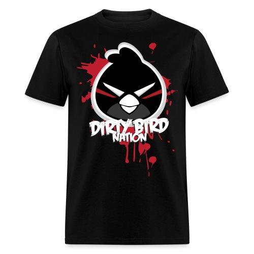 Men's Dirty Bird Cartoon Tee - Men's T-Shirt