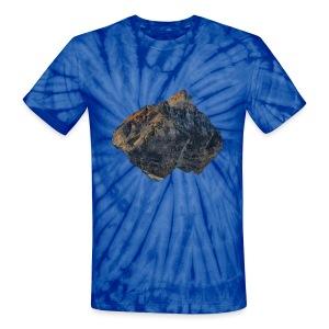 Tie Dye Floating Mountain T-Shirt - Unisex Tie Dye T-Shirt