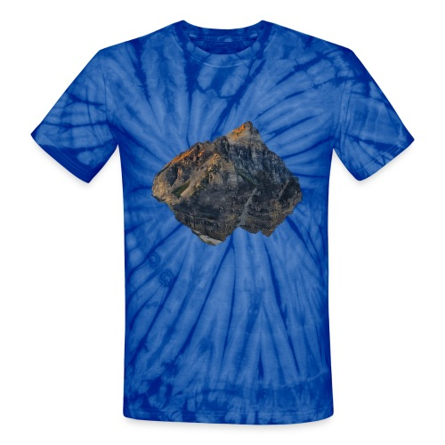 Tie Dye Floating Mountain T-Shirt - Unisex Tie Dye T-Shirt