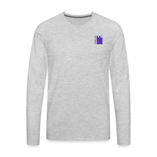 Trueblu Icon Long Sleeve - Men's Premium Long Sleeve T-Shirt