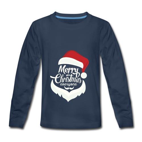 christmas santa spl - Kids' Premium Long Sleeve T-Shirt