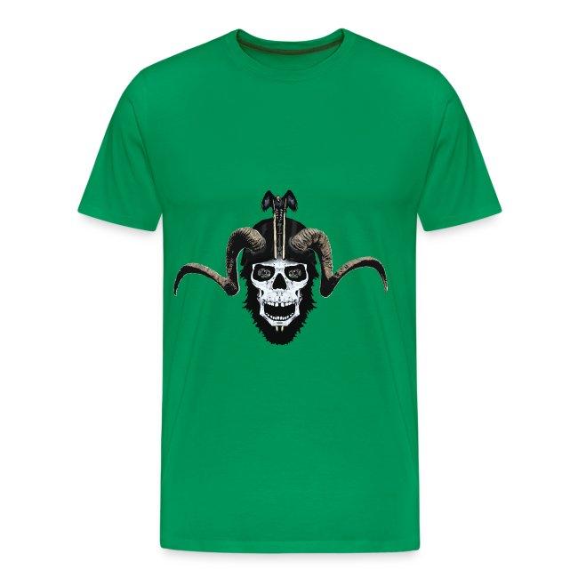 Ram skull biker 1