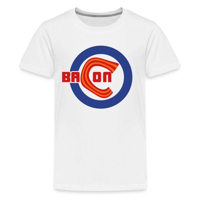 Chicago Bacon Baseball Kids Premium Tee