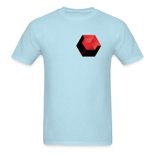 210 : powder blue - Men's T-Shirt