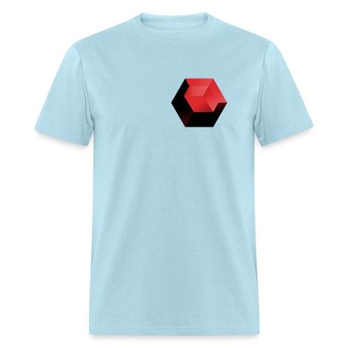 210 : powder blue - Men's T-Shirt