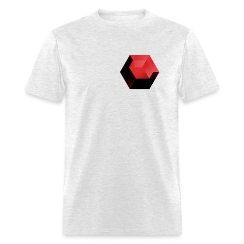 210 : light oxford - Men's T-Shirt