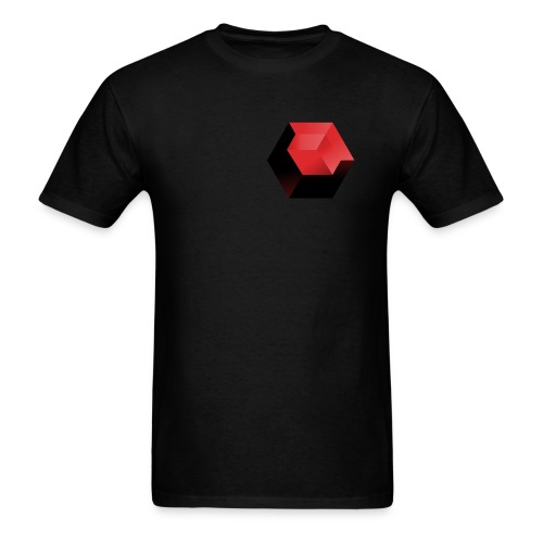 210 : black - Men's T-Shirt
