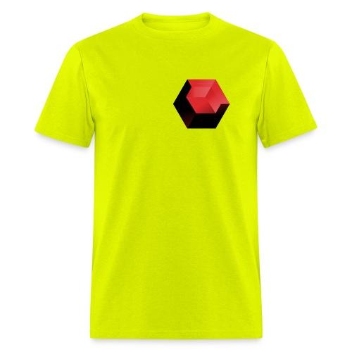 210 : safety green - Men's T-Shirt