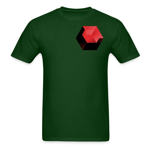 210 : forest green - Men's T-Shirt
